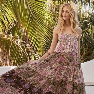 Desert daisy maxi dress